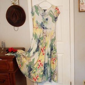 Chaps Maxi Summer Dress